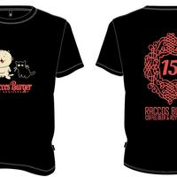 RACCOS BURGER 15thTシャツ【受注生産】