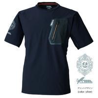寅壱 x RACCOS BURGER コラボ 半袖ストレッチTシャツ【受注販売】