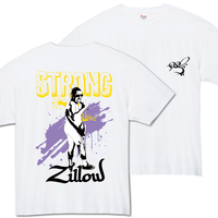 Strong Zillow T-Shirts White  【2XL〜】