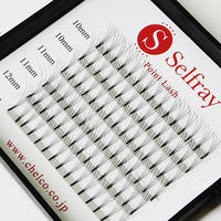 Point Lash Size Mix 5D C- Curl