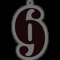 [SIX NINE] RUBBER KEY RING