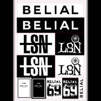 LSN A4 Sticker