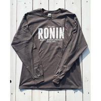 2018 冬の定番アイテム! ロニン【RONIN】RONIN LONG SLEEVE TEE
