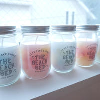 【The Beach Bed】Jar Candle  color:Blue