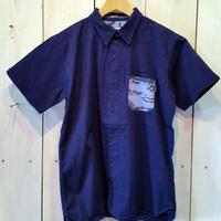 【MAGIC NUMBER】Stretch Twill Island Camo Pocket Shirt