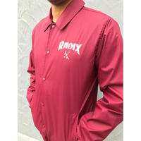 オールシーズン使える‼【RADIX ORIGINAL】COACH JACKET  color : Red
