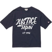 【JUSTICE】JAPAN LOGO 5.6oz DROP-TEE