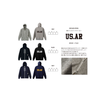 【2020 RADIX ORIGINAL】8.4oz zip parker US.AR