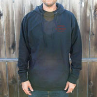 待望の日本上陸!【MADSON OF AMERICA】DEALERSHIP HOODIE FLEECE   color :  Black / Red