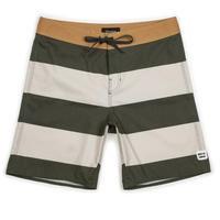 【BRIXTON】BARGE STRIPE TRUNK