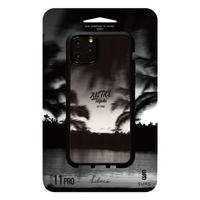 【JUSTICE】iPhone case B design black