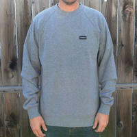 待望の日本上陸!【MADSON OF AMERICA】STAPLE CREW FLEECE   color :  Grey
