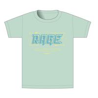 【BEAMSデザイン】RAGE ASIA 2020 オフィシャルTシャツ  TECHNO MINT