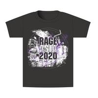 【BEAMSデザイン】RAGE ASIA 2020 オフィシャルTシャツ LOGO BLACK