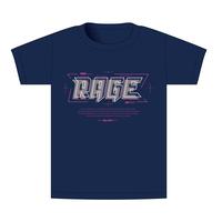 【BEAMSデザイン】RAGE ASIA 2020 オフィシャルTシャツ  TECHNO NAVY