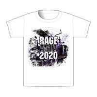 【BEAMSデザイン】RAGE ASIA 2020 オフィシャルTシャツ  LOGO WHITE