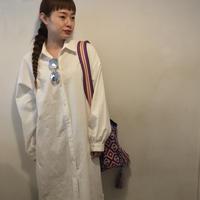 LONGシャツワンピース/WHITE
