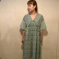 エスニックdressワンピース/green