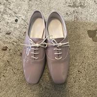 エナメルレースアップシューズ/Lavender