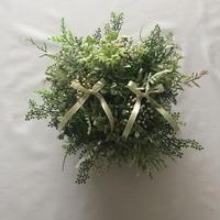 Wedding RingPillow -GREEN-