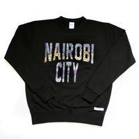 NAIROBI CITY トレーナー【Kilimani/Black】