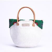 ホワイトサイザル+インナーバッグ【Green】