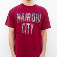 NAIROBI CITY Tシャツ【Karen/Wine Red】