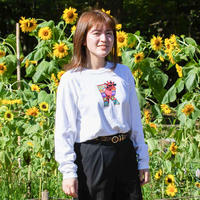 ロングスリーブTシャツ・White【Twiga / キリン】
