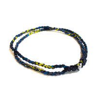 アフリカ布カチューシャ【Blueberi / ブルーベリー】