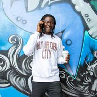 NAIROBI CITY トレーナー【Lavington/White】