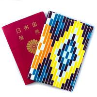 アフリカ布パスポートカバー【Mchana / 昼】