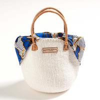 ホワイトサイザル+インナーバッグ【Blue】