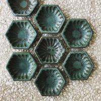 淡路島ブルー六角小鉢