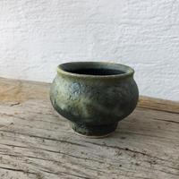 緑釉耐熱スープ壺