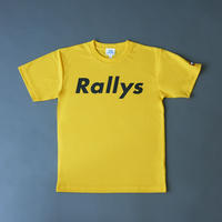 Rallys T [Yellow]|試合でも使えるTシャツ