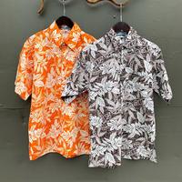 アロハシャツ 2トーンリーフ