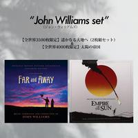 ≪ジョン・ウィリアムズ作品セット≫遥かなる大地へ(2枚組) + 太陽の帝国(2枚組)通常¥10,560