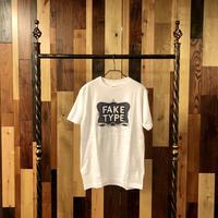 FAKE TYPE. 限定Tシャツ