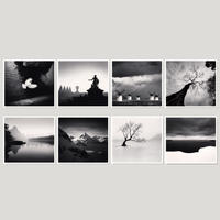【 A 45 YEAR ODYSSEY (Postcards) 】Michael Kenna