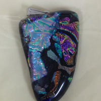 ダイクロガラス ネックレス  G6014
