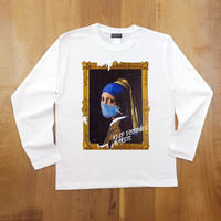 RARETE (ラルテ) フェルメール マスク ホワイト  長袖Tシャツ