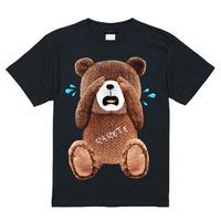RARETE (ラルテ)  泣いちゃった! 【茶色】 Tシャツ ブラック