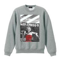 RARETE (ラルテ) Hollywood マリリンモンロー  トレーナー グレイ