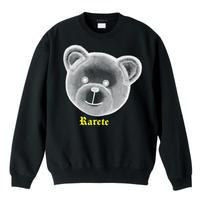RARETE (ラルテ)  テディベア  X線 トレーナー ブラック