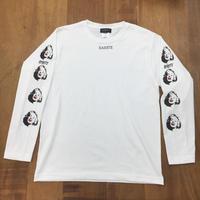RARETE (ラルテ)  マリリンモンロー シルエット  ホワイト  長袖Tシャツ