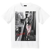 RARETE (ラルテ)   マリリンモンロー camera flour  Tシャツ ホワイト
