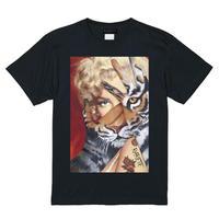 RARETE (ラルテ)    マリリンモンロー トラ Tシャツ  ブラック