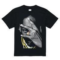 RARETE (ラルテ)   スヌープドッグ pose Tシャツ ブラック