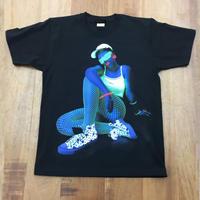 RARETE (ラルテ)    GIRL  neon キャップ  Tシャツ ブラック