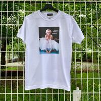 RARETE (ラルテ) マリリンモンロー ドレス  バブル Tシャツ ホワイト